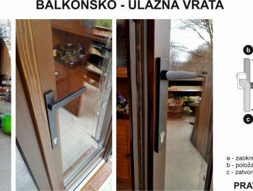 Balkonsko-ulazna vrata